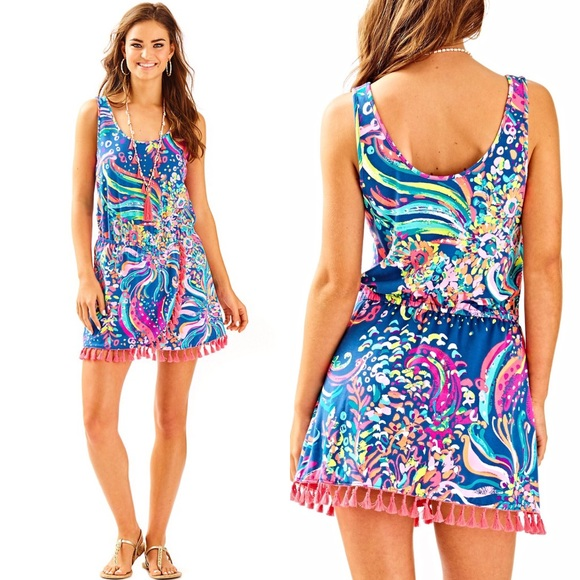 09e48b734b89 Lilly Pulitzer Pants - NWOT-Lilly Pulitzer JARRETT ROMPER dress w  shorts